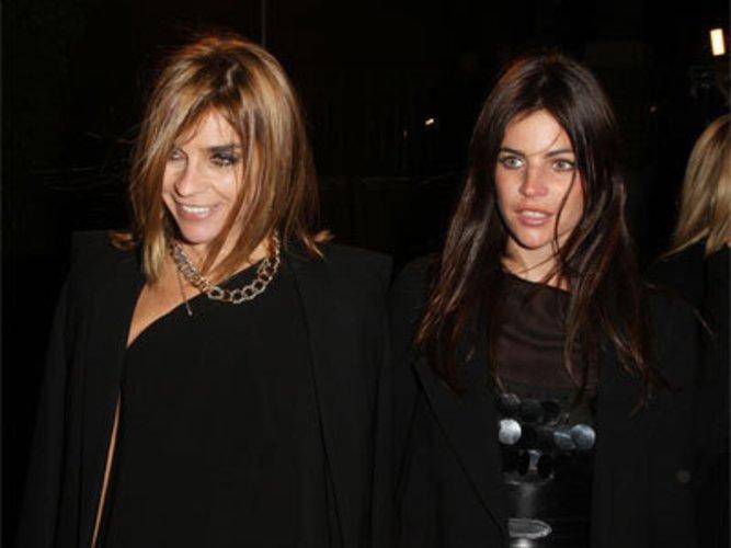 Carine Roitfeld und Julia Restoin-Roitfeld: Frankreichs Mode-Elite