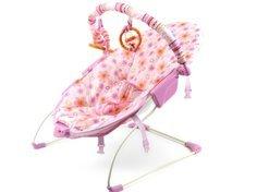 Babys lieben die schaukelnden Bewegungen der Babywippe.