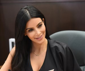 "LOS ANGELES, CA - MAY 07: Kim Kardashian West attends the book signing for ""Selfish"" at Barnes & Noble bookstore at The Grove on May 7, 2015 in Los Angeles, California. (Photo by Jason Merritt/Getty Images)"