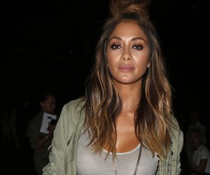 NEW YORK, NY - SEPTEMBER 16: Nicole Scherzinger attends Greg Lauren front row Spring 2016 during New York Fashion Week: The Shows at The Dock, Skylight at Moynihan Station on September 16, 2015 in New York City. (Photo by Thos Robinson/Getty Images Greg Lauren)