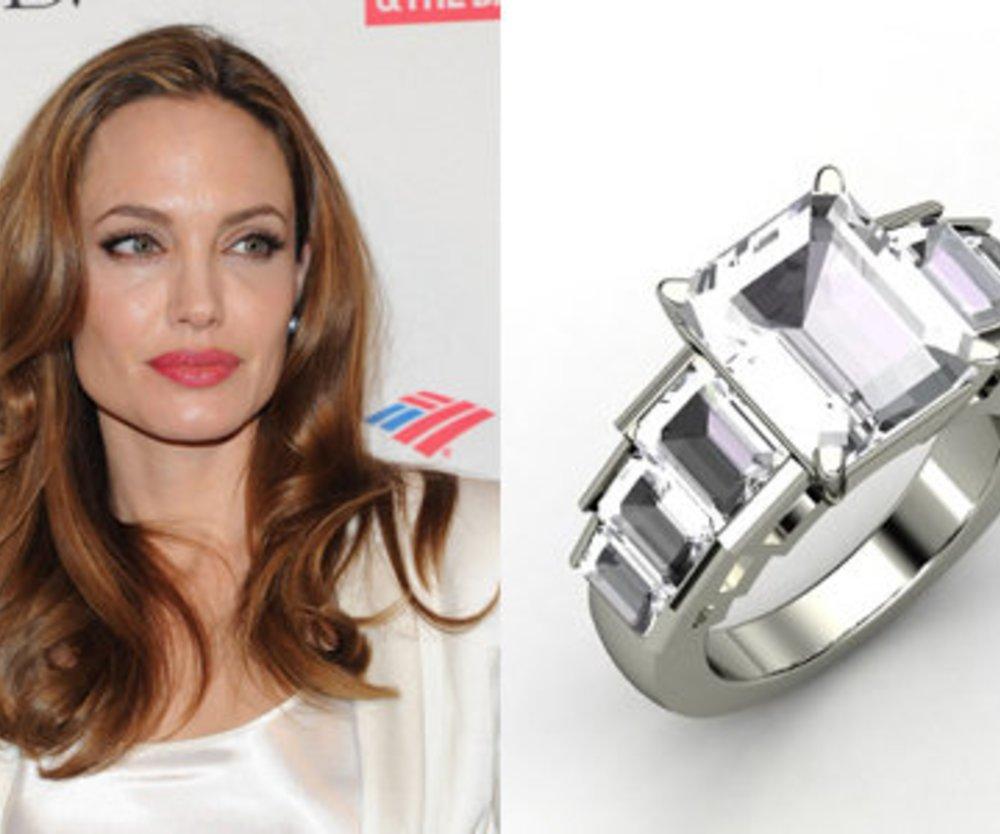 Angelina Jolie: Verlobungsring als Verkaufsschlager