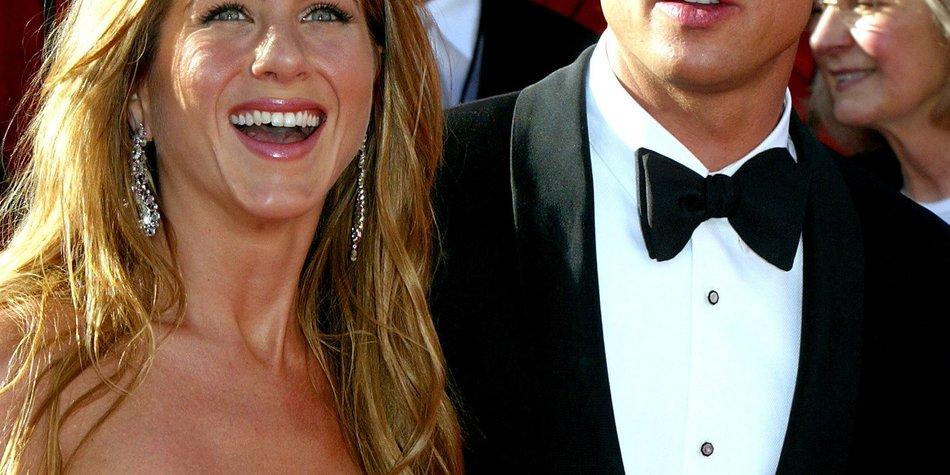 Brad Pitt freut sich über die Verlobung seiner Ex-Frau