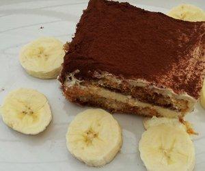 Verpoorten-Tiramisu mit Bananen