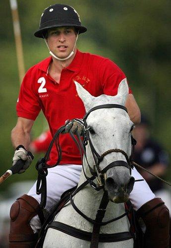 Prinz William ist begeisterter Polo-Spieler