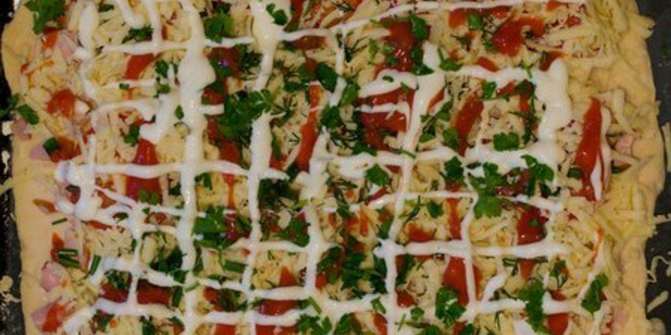 Pizzateig mit Hefe