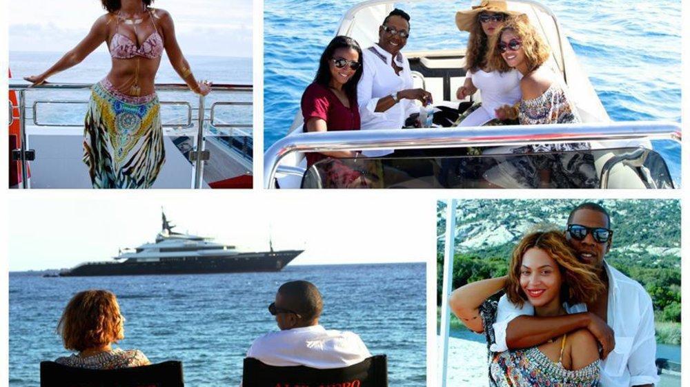 Beyonce verbringt romantischen Liebesurlaub mit Jay-Z