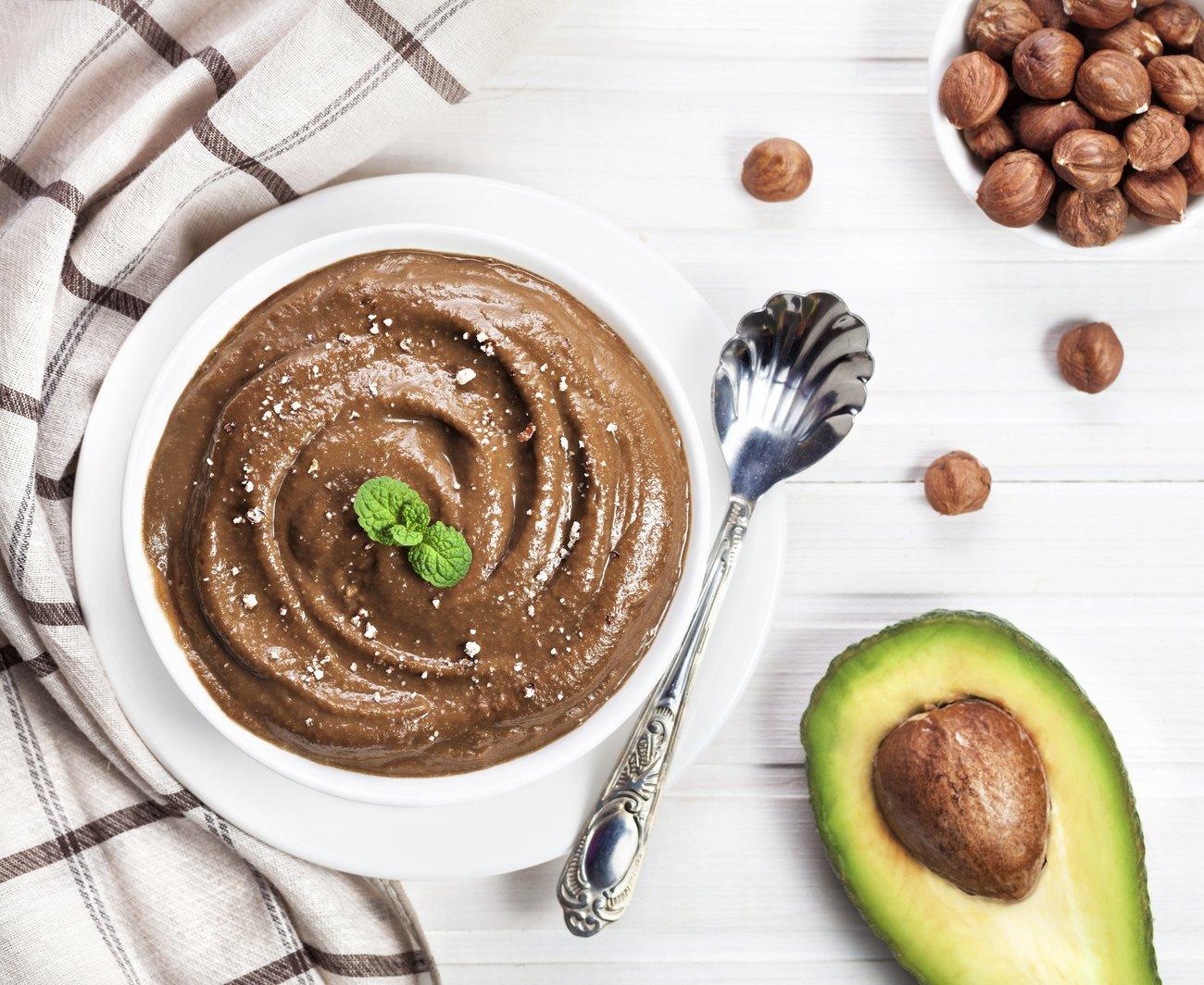 Avocado Mousse au Chocolat