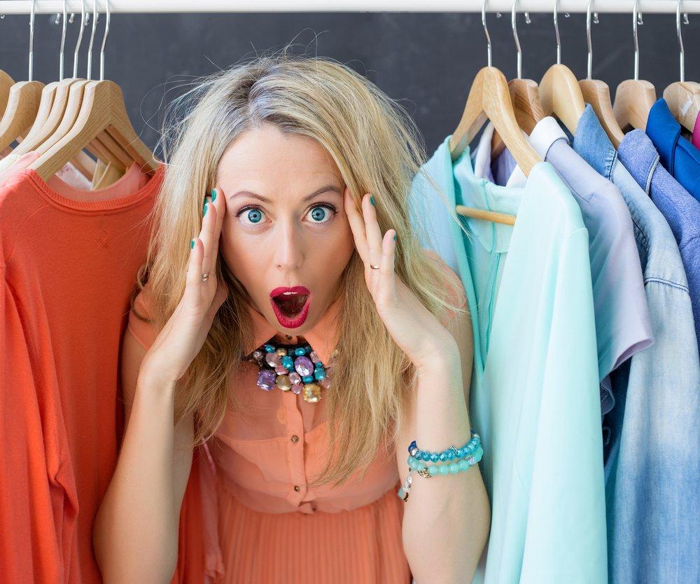 Ordnung im Kleiderschranka