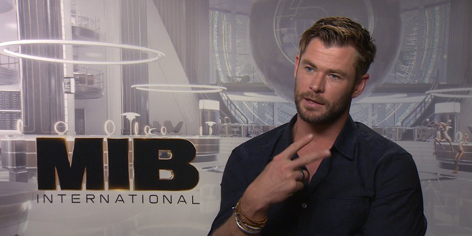"Chris Hemsworth über ""Men in Black: International"""
