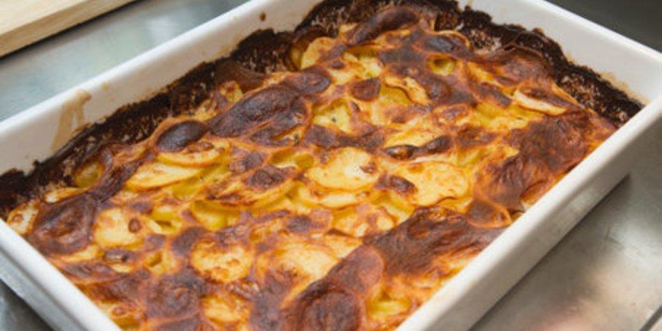 Kartoffelgratin fettarm