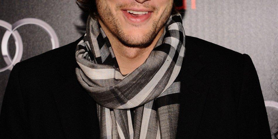 Ashton Kutcher hat es nicht einfach