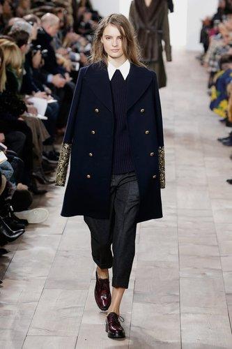 Fashion Week New York: Michael Kors zeigt glamourösen Preppy Chic