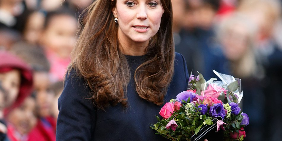 The Duchess Of Cambridge Officially Names The Clore Art Room At Barlby Primary School