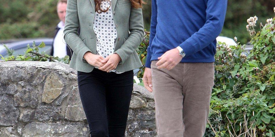 Kate Middleton und Prinz George besuchen den Ur-Opa