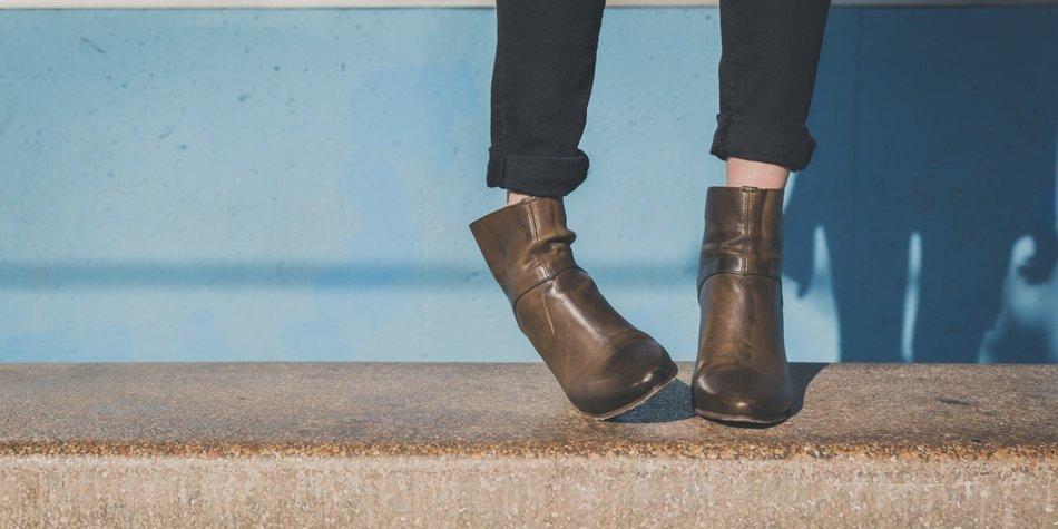 Schuhe quietschen