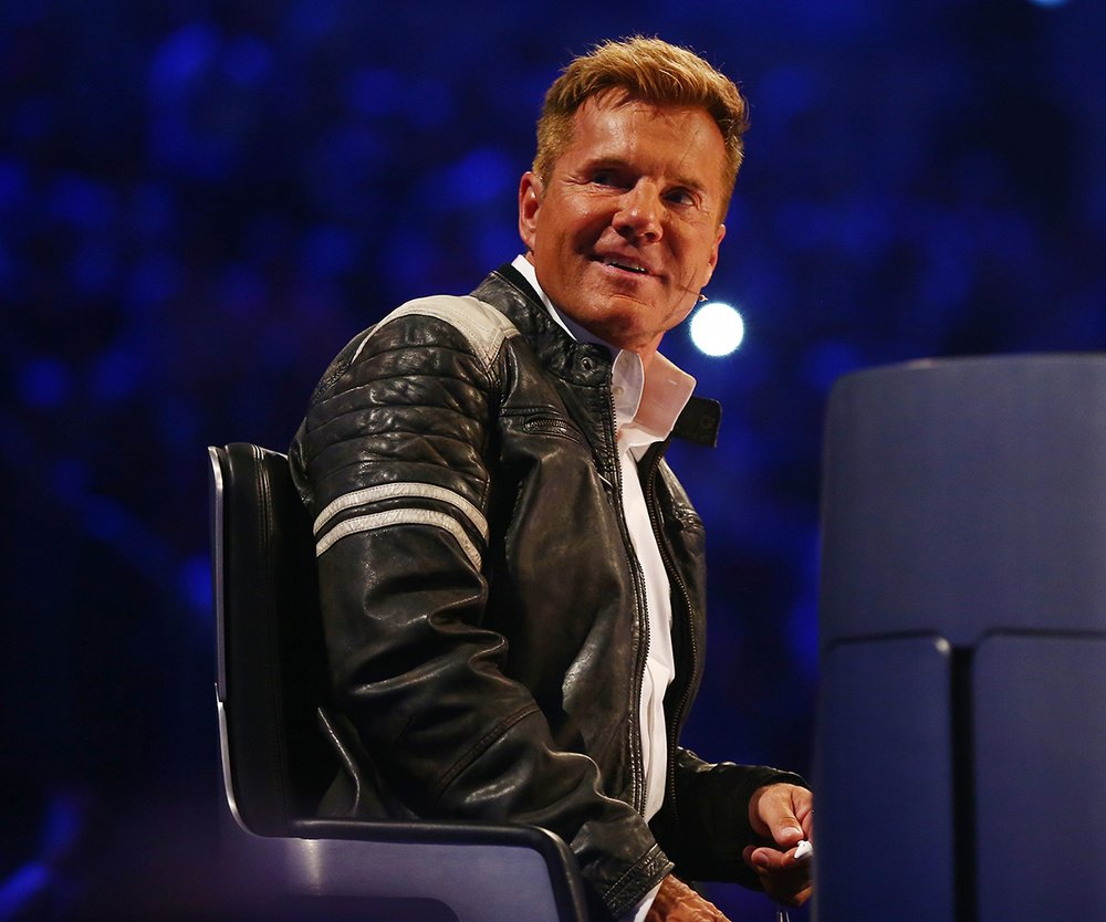 DUESSELDORF, GERMANY - MAY 07: Dieter Bohlen attends the finals of the television show 'Deutschland sucht den Superstar' on May 7, 2016 in Duesseldorf, Germany. (Photo by Mathis Wienand/Getty Images)