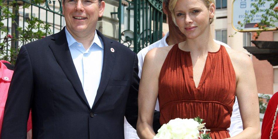 Charlène von Monaco und Prinz Albert feiern Hochzeitstag