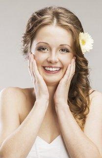 Brautfrisur mit offenen Haaren
