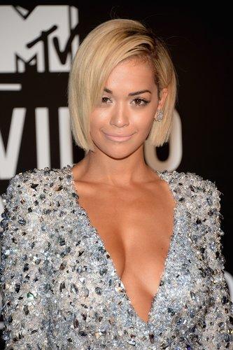 Rita Ora: Blonder Pagenschnitt