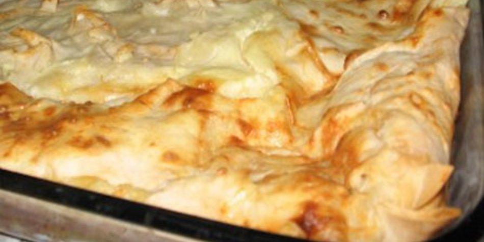 Gibanica (serbische Knüll-Lasagne)