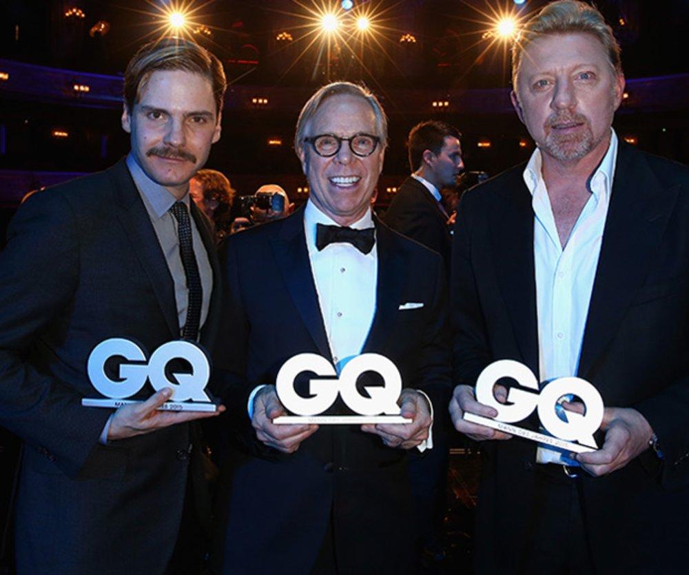 Daniel Brühl, Tommy Hilfiger, Brosi Becker