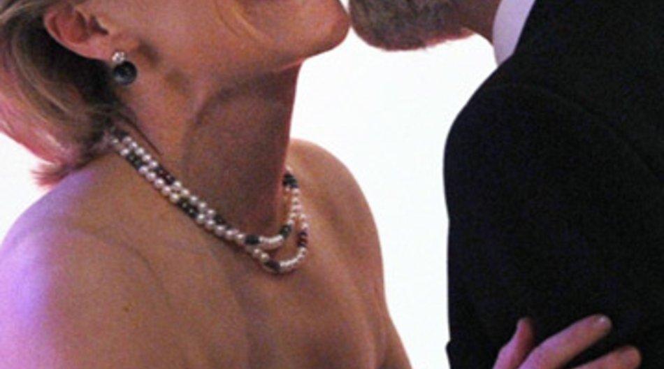 Ursula von der Leyen und George Clooney.