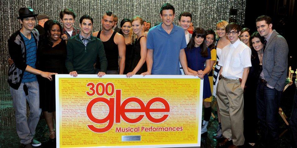 Glee: Lea Michele ist die Stärkste am Set