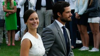 OLAND, SWEDEN - JULY 14: Princess Sofia of Sweden; Prince Carl Philip of Sweden attend a concert to celebrate the 38th birthday of Crown Princess Victoria of Sweden at Borgholmon July 14, 2015 in Oland, Sweden. (Photo by Luca Teuchmann/Getty Images)