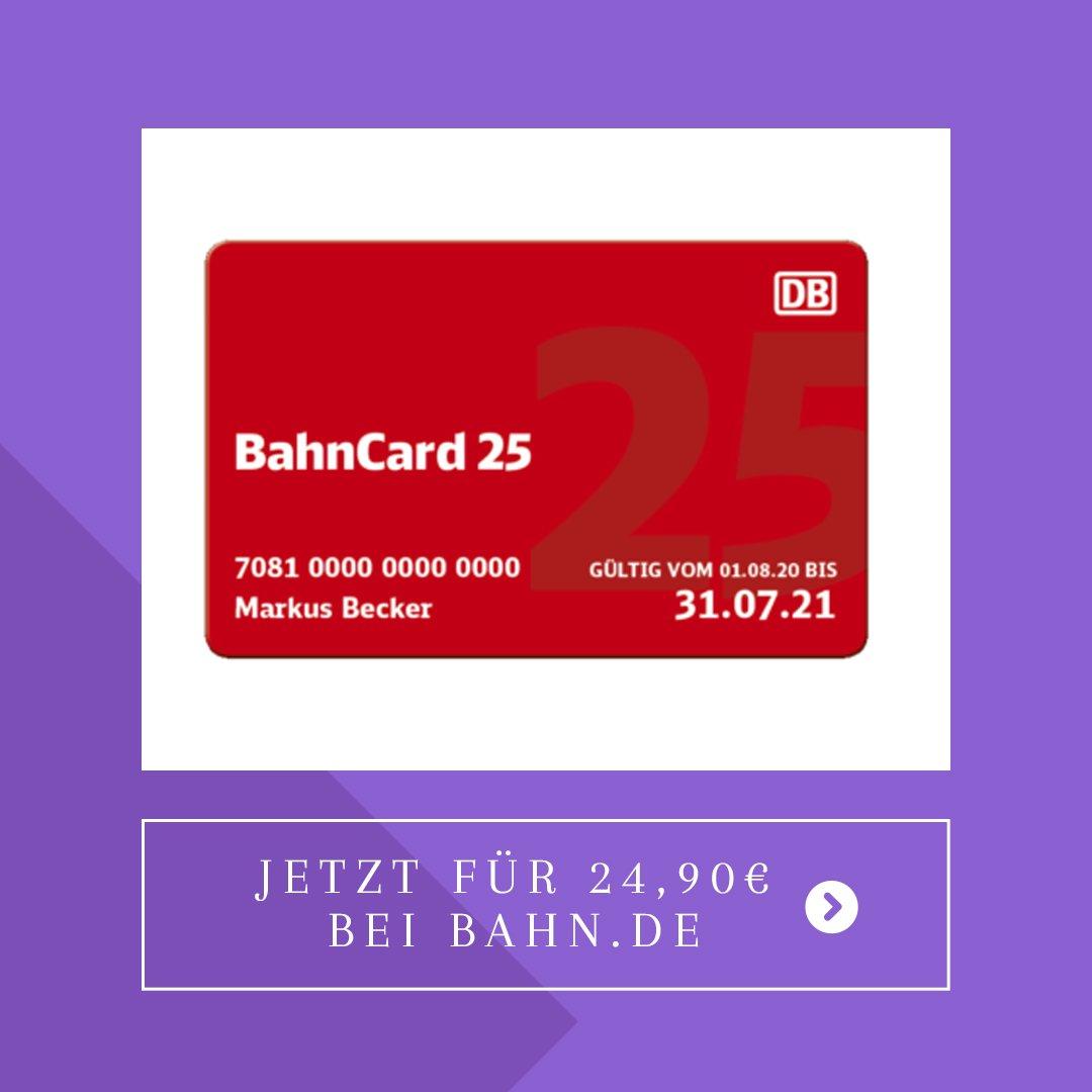 Die BahnCard 25 bekommst du jetzt für unter 25 Euro