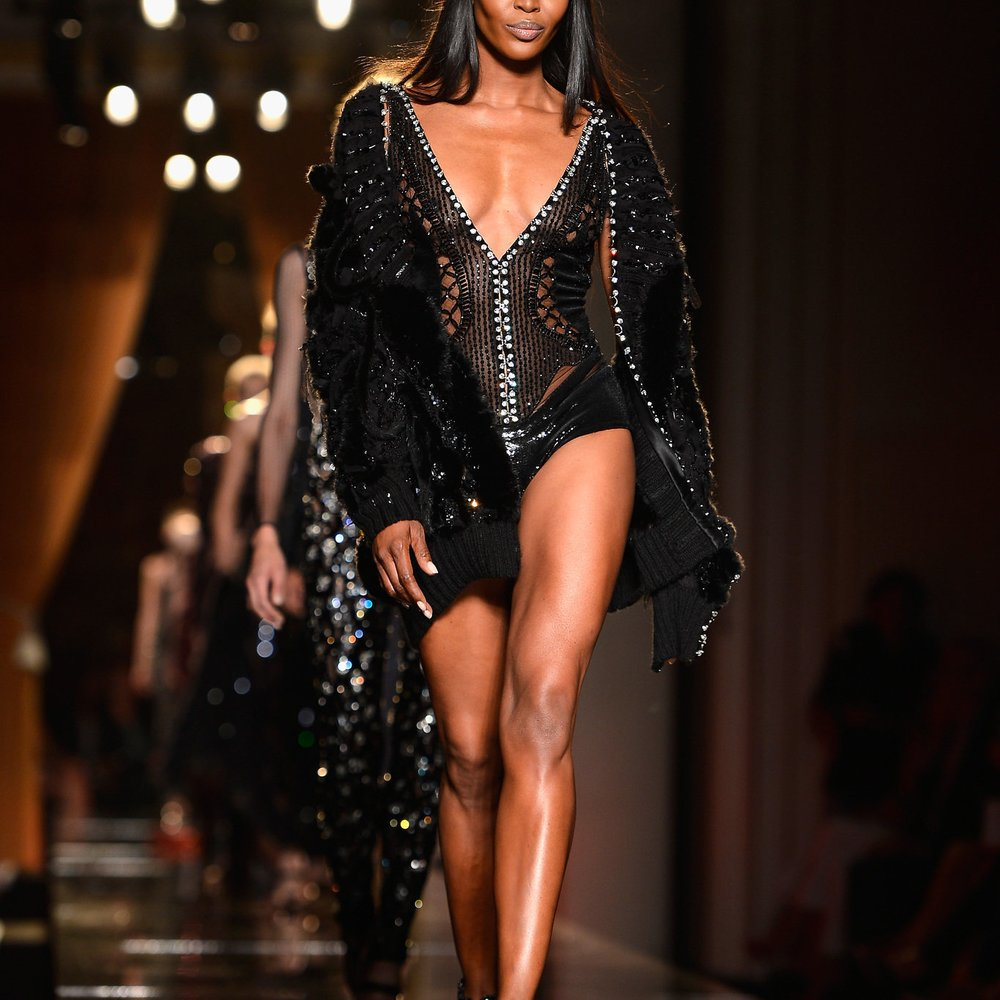 Haute Couture Paris: Versace zeigt 30er Jahre Glamour