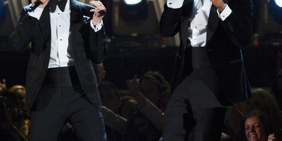 Justin Timberlake und Jay-Z covern Nirvana
