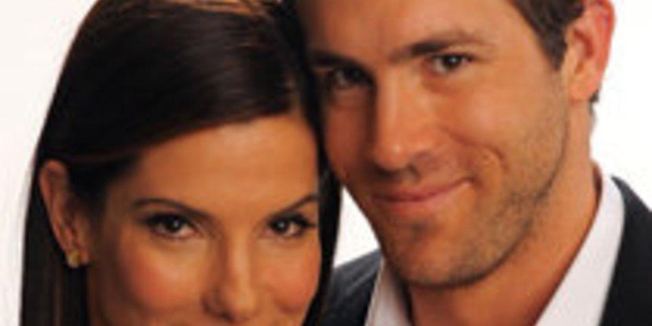 Ryan Reynolds: Silvester mit Sandra Bullock