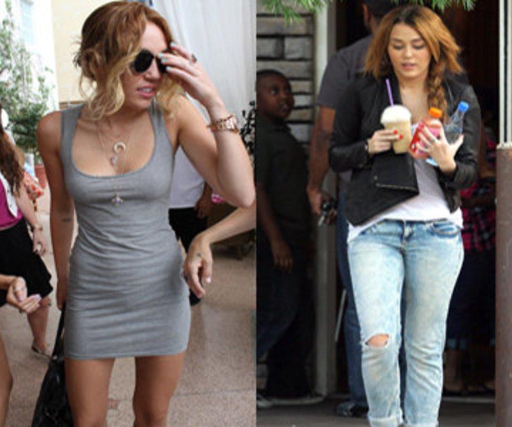 Miley Cyrus ist im Magerwahn