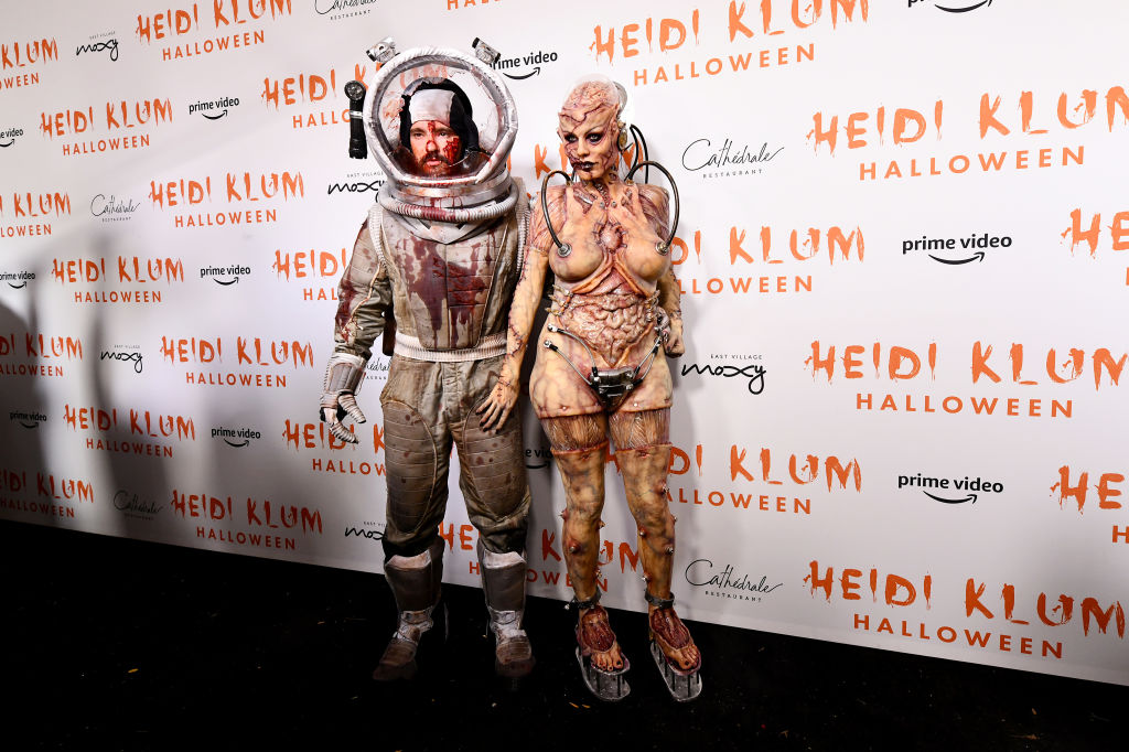 Heidi Klum Halloween Kostüm Tom Kaulitz