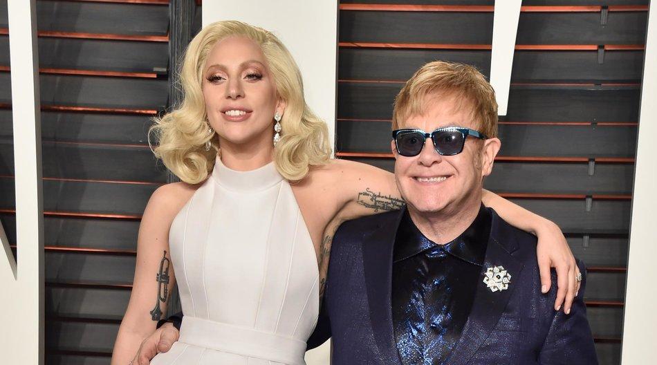 Lady Gaga und Elton John