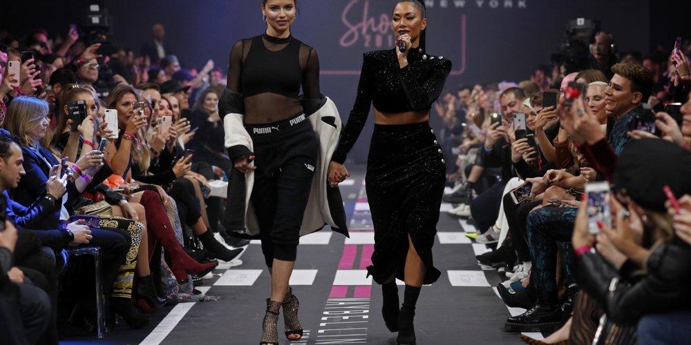 Maybelline New York Show - Berlin Fashion Week Autumn/Winter 2019 Adriana Lima Nicole Scherzinger