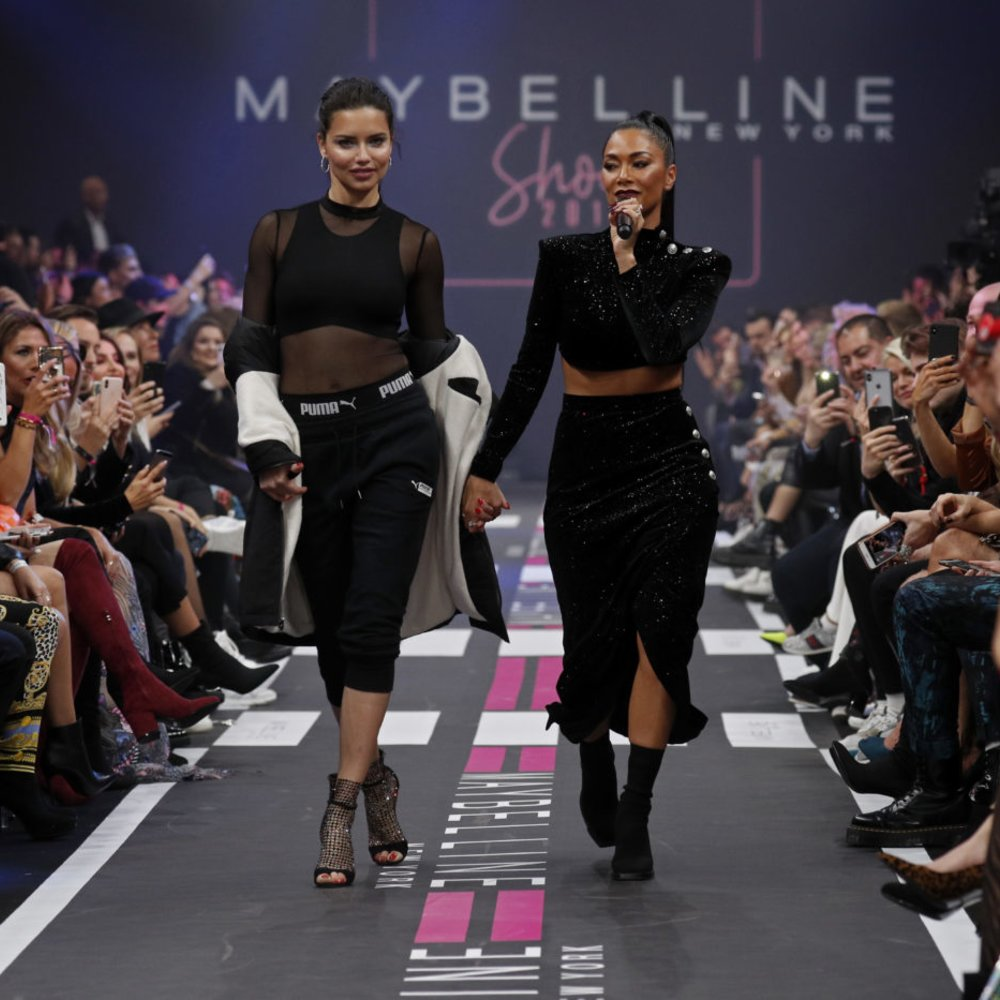 Maybelline New York Show - Berlin Fashion Week Autumn/Winter 2019 Adriana Lima Nicole Scherzinger