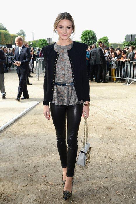 Olivia Palermo bei der Elie Saab Schau in Paris