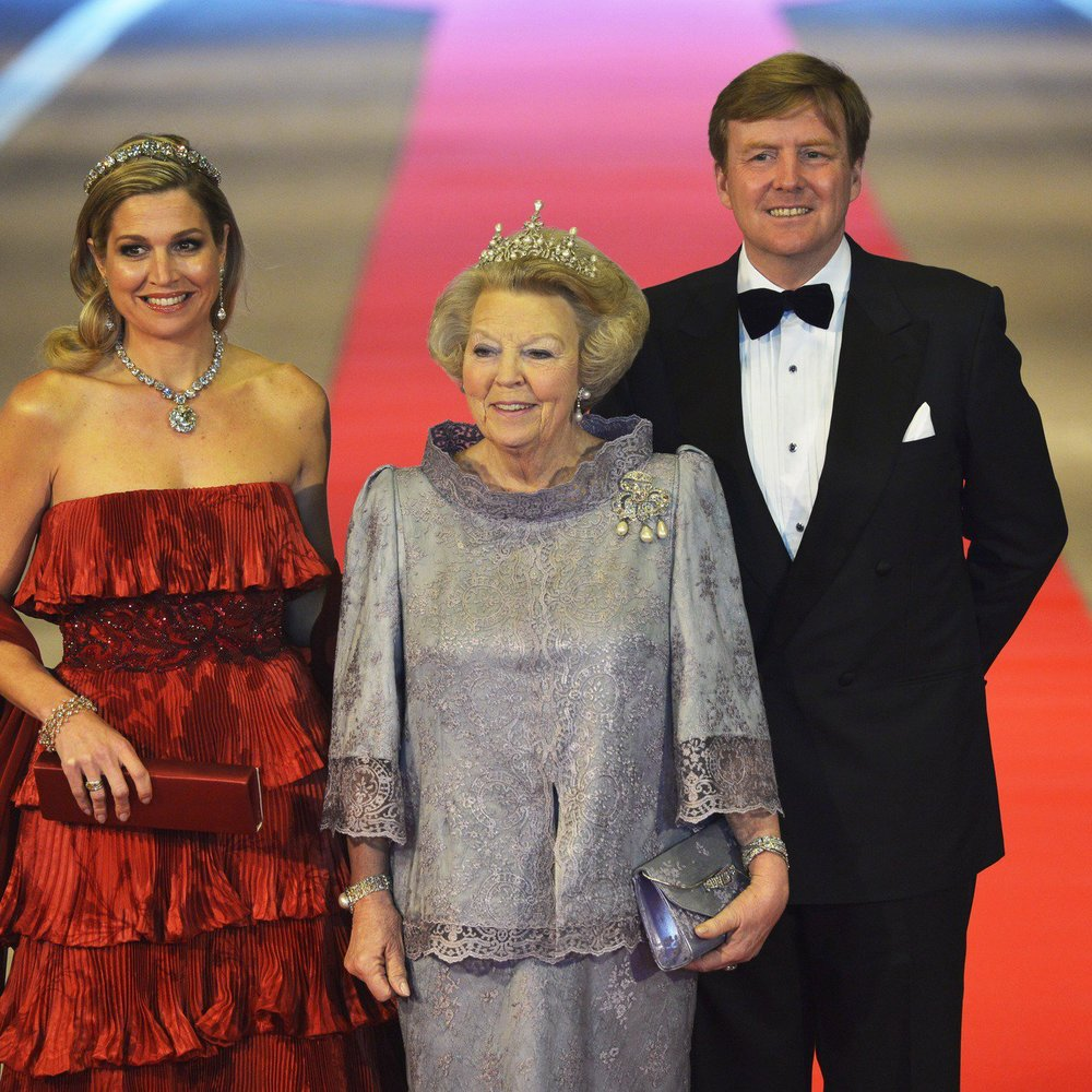 Königin Beatrix: Der europäische Adel verabschiedet sie