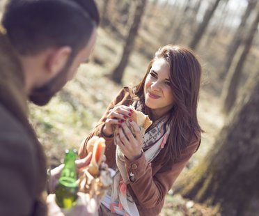Flirtsignale Test