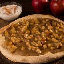 Apfel-Zimt-Pizza