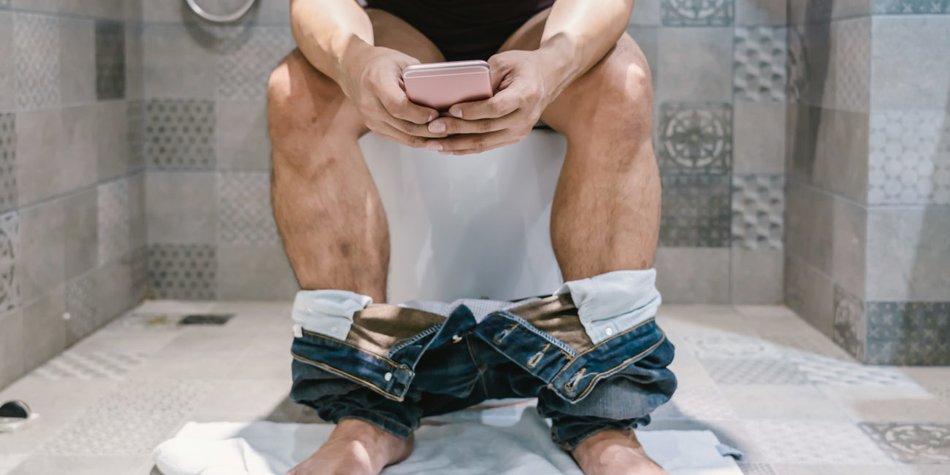 Mann Toilette
